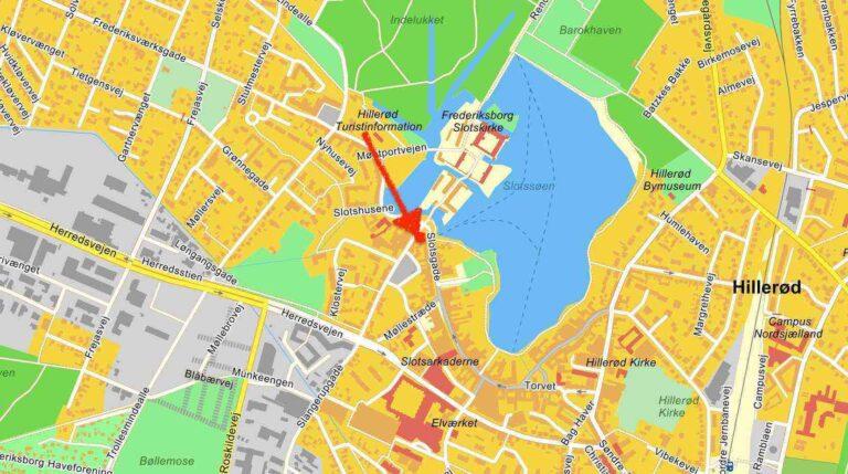 Kort til New Laser Clinic - Nordsjælland